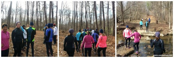 new years trail run