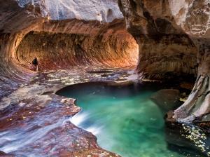 Inside Zion National park's famous